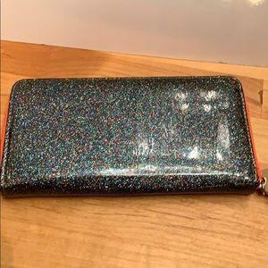Deux Lux Sparkle long zip wallet